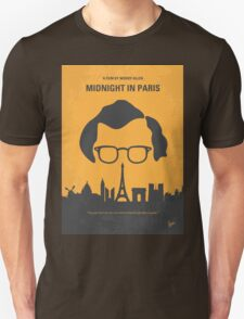 No312 My Midnight in Paris minimal movie poster Unisex T-Shirt