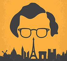 No312 My Midnight in Paris minimal movie poster by JinYong
