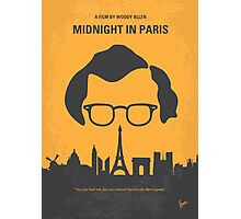 No312 My Midnight in Paris minimal movie poster Photographic Print