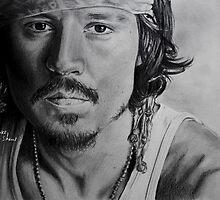 Johnny Depp by Brooke Shane