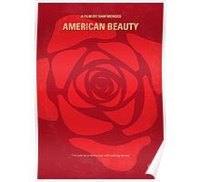No313 My American Beauty minimal movie poster Poster
