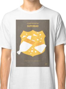 No315 My Superbad minimal movie poster Classic T-Shirt