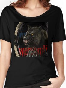 werewolf mirror  Women's Relaxed Fit T-Shirt