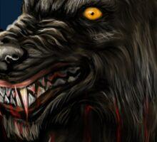 werewolf mirror  Sticker