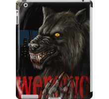 werewolf mirror  iPad Case/Skin