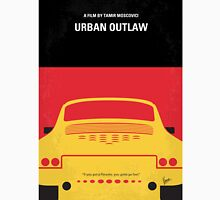 No316 My URBAN OUTLAW minimal movie poster Unisex T-Shirt