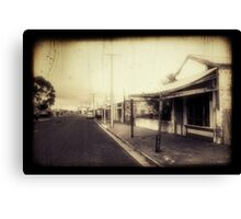 Terowie Sunday Canvas Print