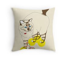 Eat . Play . Love Throw Pillow
