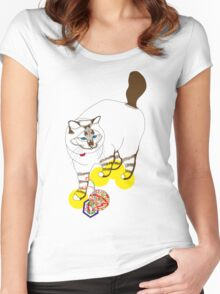 Eat . Play . Love Women's Fitted Scoop T-Shirt