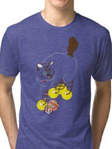 Eat . Play . Love Tri-blend T-Shirt
