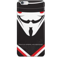 No319 My V for Vendetta minimal movie poster iPhone Case/Skin