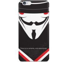 No319 My V for Vendetta minimal movie poster iPhone Case/Skin