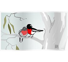Scarlet Robins in Love Poster