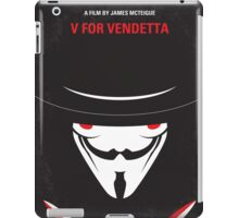 No319 My V for Vendetta minimal movie poster iPad Case/Skin
