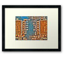 Circuitry Framed Print
