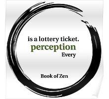 Quote About Reality & Perception Poster