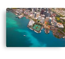 Honolulu City, Oahu, Hawaii Canvas Print