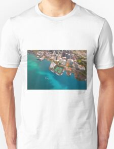 Honolulu City, Oahu, Hawaii Unisex T-Shirt