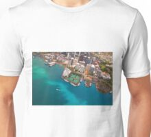 Honolulu City, Oahu, Hawaii Unisex T-Shirt
