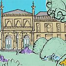 Brighton Museum & Art Gallery ( Card ) by Adam Regester