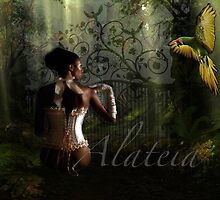 LAURA & THE BIRD by Alateia