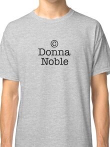 Copyright Donna Noble Classic T-Shirt