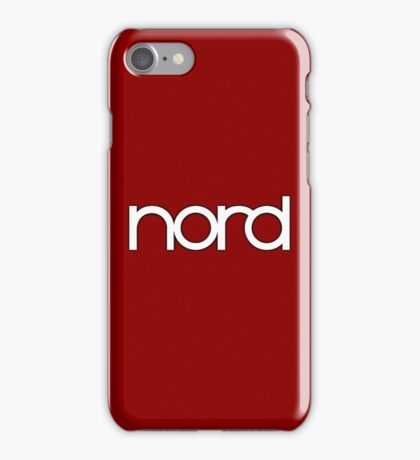 Wonderful Nord  Synth iPhone Case/Skin