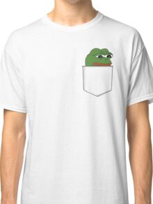 Sad Pocket Pepe Classic T-Shirt