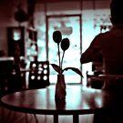 Restaurant table. by Laurent Hunziker
