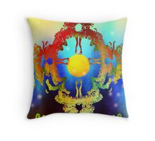 Defined Abstraction Throw Pillow