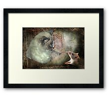 """Oh!...It's YOU AGAIN !..."" Framed Print"