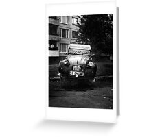 Citroen 2 Greeting Card
