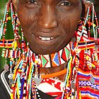 Maasai or Masai Woman, East Africa  by Carole-Anne