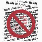 blah blah blah! by Cheryl Ridge