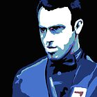 """Rocket"" Ronnie O'Sullivan by Redbarron"