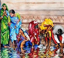 Along the Ganges by Paris Lomé