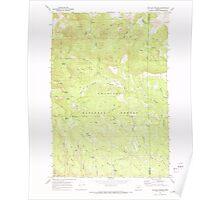 USGS Topo Map Oregon Matlock Prairie 280655 1969 24000 Poster
