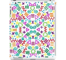 90s Design iPad Case/Skin