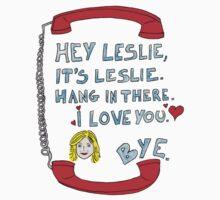 Hey Leslie, It's Leslie Kids Tee