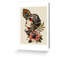 Gipsy Girl 02 Greeting Card
