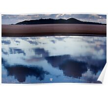 Byron Bay, sunset, lighthouse, beach, Belongil Poster