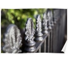 Front fence Poster