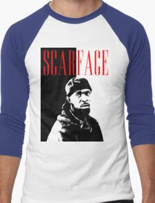 Scarface Little Men's Baseball ¾ T-Shirt