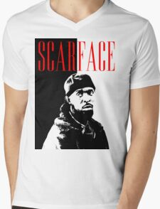 Scarface Little Mens V-Neck T-Shirt