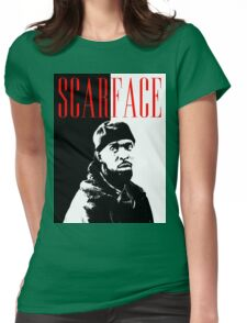 Scarface Little Womens Fitted T-Shirt