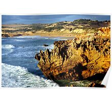 A Rugged coast Line Poster