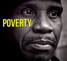 Beautifull Black & White Portrait Homeless Poverty  by CarlosV