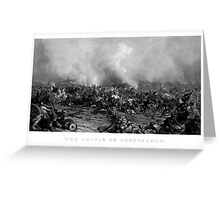 The Battle of Gettysburg -- Civil War Greeting Card