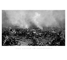 The Battle of Gettysburg -- Civil War Photographic Print