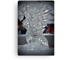 Arosa Ice Eagle Canvas Print